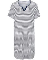 Hautnah Sleepshirt 1/2-arm - Mehrfarbig