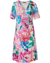 Uta Raasch Jersey-kleid 1/2-arm - Mehrfarbig