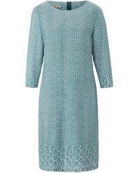 Uta Raasch La robe ligne droite et sobre taille 38 - Bleu