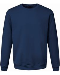 Louis Sayn Le sweat-shirt 100% coton taille 50 - Bleu