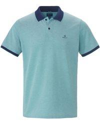 GANT Polo-shirt 1/2-arm - Blau