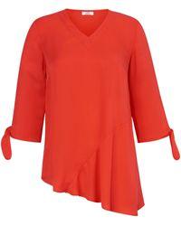 Emilia Lay Bluse 3/4-arm - Orange