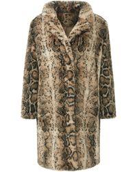 Emilia Lay Le manteau avec poches pratiques taille 50 - Multicolore