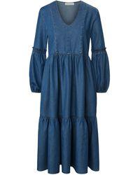Portray Berlin La robe manches 7/8 taille 48 - Bleu