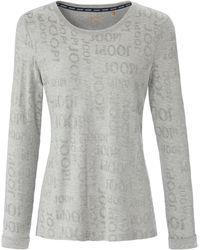 Joop! Le t-shirt maille jacquard taille 40 - Gris