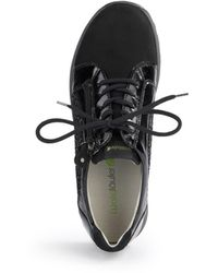 Waldläufer Sneaker hiroko - Schwarz