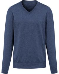 Peter Hahn Cashmere - Le pull col v 100% cachemire - Lyst