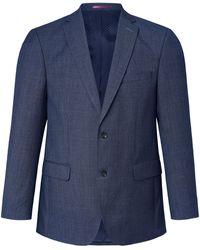Carl Gross La veste 100% laine vierge coupe modern fit taille 52 - Bleu