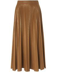 Marella La jupe plissée taille 42 - Marron