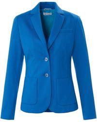 St. Emile Jersey-blazer - Blau