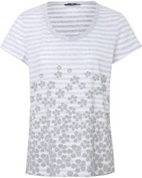 Peter Hahn Rundhals-shirt größe - Grau