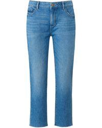 DL1961 7/8 jeans modell mara straight mid rise - Blau