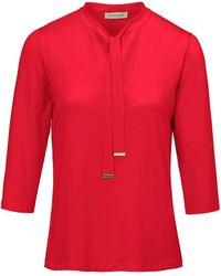 Uta Raasch Shirt 3/4-arm - Rot