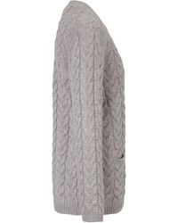 Peter Hahn Strickjacke aus 100% schurwolle größe - Grau