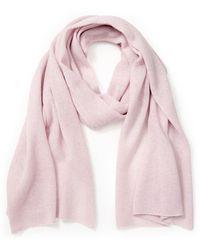 Peter Hahn Cashmere Schal aus 100% Premium-Kaschmir rosé - Pink