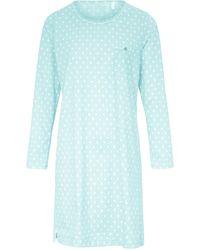 RÖSCH Nachthemd aus 100% baumwolle - Blau