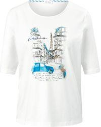 Gerry Weber Le t-shirt encolure ronde taille 38 - Blanc