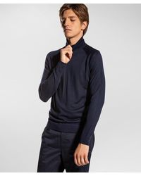 Peuterey Dolcevita in lana merinos - Blu
