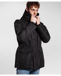 Peuterey Military/functional field jacket - Nero