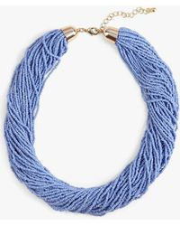 Phase Eight - Harley Bead Multirow Necklace - Lyst
