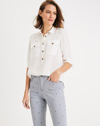 b32a084f Phase Eight - White Gwenda Shirt - Lyst