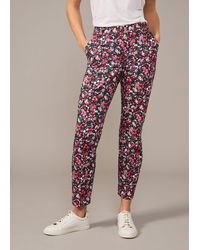 Phase Eight Libertine Floral Trouser - Multicolour