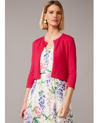 Phase Eight Catie Cropped Cardigan - Multicolour