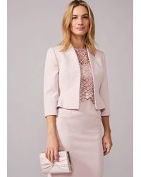 Phase Eight Mariposa Occasion Jacket - Pink