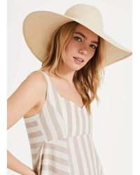 Phase Eight Lucy Oversized Hat - Natural