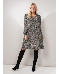 Studio 8 Elle Printed Swing Dress - Multicolour