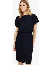 Phase Eight - Temple Textured Blouson Dress - Lyst