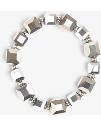 Phase Eight - Selma Square Facet Stretch Bracelet - Lyst