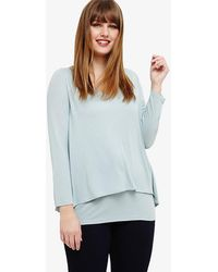 Phase Eight - Joy Double Layer Top - Lyst