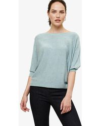 Phase Eight - Becca Spot Stitch Knitted Jumper - Lyst