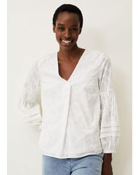 Phase Eight - Cali Burnout Blouse - Lyst