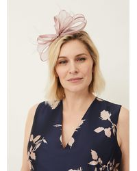 Phase Eight Taupe Marcella Headband Fascinator - Brown