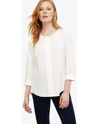 Phase Eight - Priscilla Pleat Back Blouse - Lyst