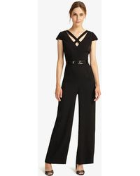 Phase Eight - Anya Belted Jumpsuit - Lyst