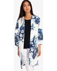 Phase Eight - Chinoiserie Print Coat - Lyst
