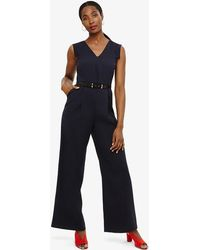 Phase Eight - Liliana Belted Jumpsuit - Lyst