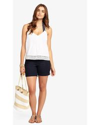 Phase Eight - Thea Denim Shorts - Lyst
