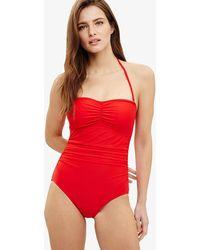 Phase Eight - Sharlene Scarlet Swimsuit - Lyst