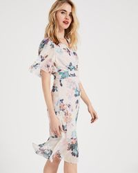 Phase Eight - Keely Printed Dress - Lyst