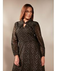 Studio 8 Bonnie Sparkle Jacquard Dress - Black
