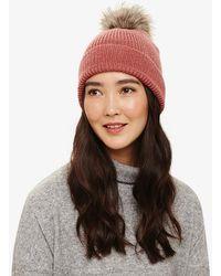 Phase Eight - Violetta Pom Pom Hat - Lyst