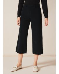 Phase Eight Paisia Cord Crop Trousers - Green