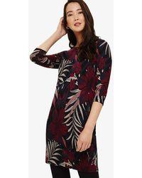 Phase Eight - Pollie Palm Jacquard Tunic Dress - Lyst