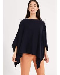 Phase Eight - Noa Cashmere Blend Poncho - Lyst