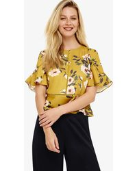 Phase Eight - Hilary Floral Blouse - Lyst