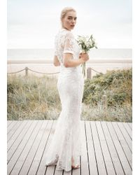 Phase Eight Poppy Embroidered Wedding Dress - Multicolour